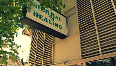Healing herbs? Sounds wonderful.